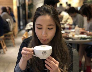 日本橋おすすめカフェ『コーヒービーン&ティーリーフ』♡充電・無料Wifi有