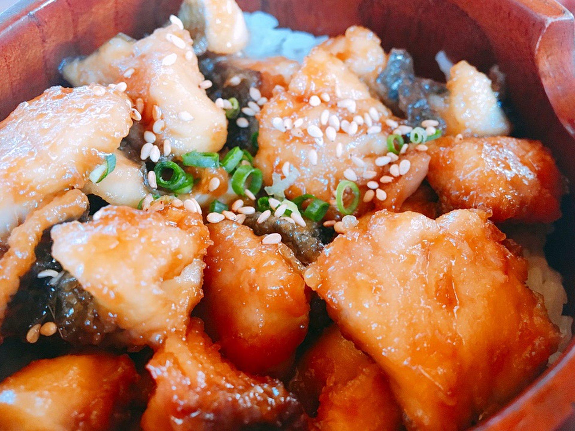 屋久島名物といえば、ここでしか食べられないとびうおひつまぶし「かたぎりさん」