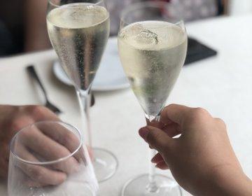 昼から贅沢シャンパン♡港区おすすめニューヨークスタイルのレストラン