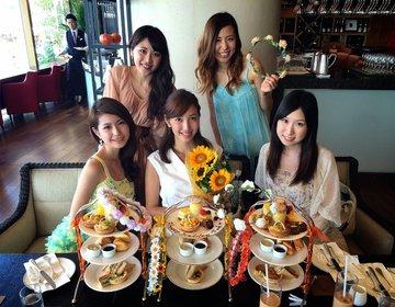 昼から高級ホテルで女子会♡お台場ホテルヒルトン東京のマンゴーアフタヌーンティー♪