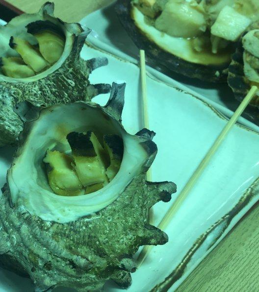 江の島 貝作