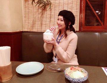 タイ料理は美容食!錦糸町はタイ料理激戦区なのです!人気のタイ料理屋さんでココナッツづくしディナー