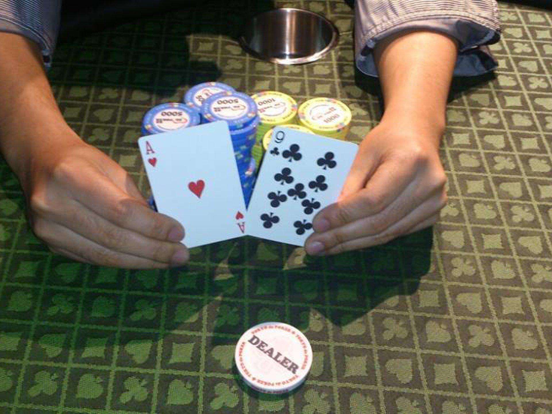 渋谷で飲み会!合法ポーカーを1000円で楽しもう!