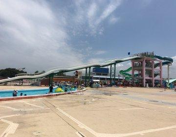 【稲毛】県内最大級・人気の海岸公園プール。絶叫最新スライダー!混雑状況・攻略法!