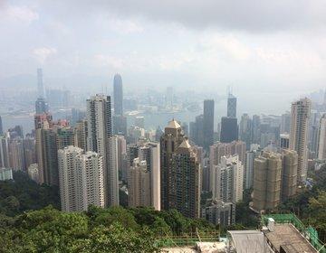 香港夜景スポットはお昼でも楽しめちゃう♡ヴィクトリア・ピーク編