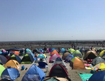 【船橋】取れすぎ注意?!潮干狩りだけじゃない!ふなばし三番瀬海浜公園
