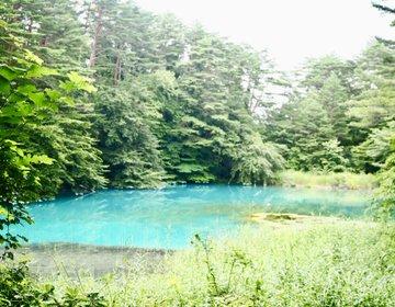 無加工なのにこの色味! 五色沼にあるブルーな湖を見つけて