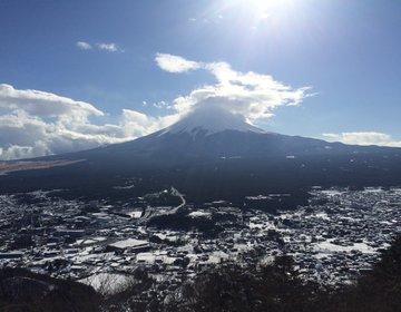 山梨・河口湖周辺で富士山尽くしの1泊2日のプチ旅行プラン(河口浅間神社、カチカチ山ロープウェイ)