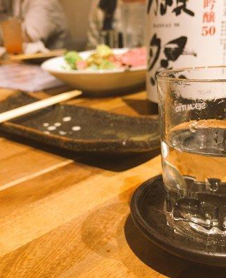 日本酒と肴 せん