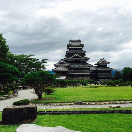 国宝松本城