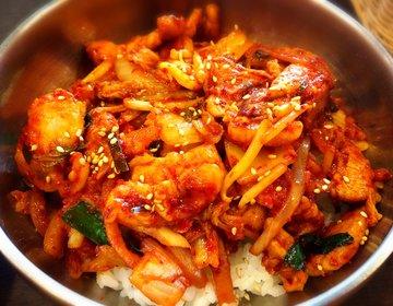 """【激安¥480〜!】新宿で韓国料理ランチなら""""ちゃん豚""""しかない!"""