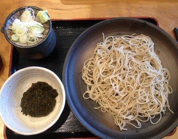 鶴岡八幡宮後は鎌倉そば女子会❤︎名物『あかもく蕎麦¥900』等を堪能‼︎穴場・混まないランチスポット