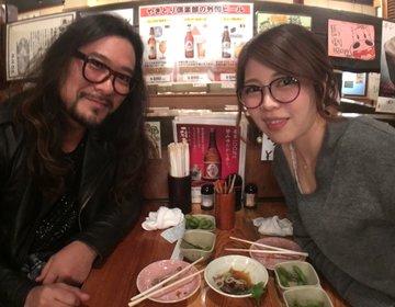 海外から帰ってきて日本の居酒屋に!夜ご飯は羽田空港近辺の【焼き鳥倶楽部】へ!夜中2時までやってます。