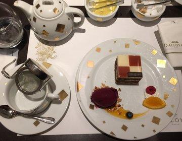 銀座食べログ3.5以上『ダロワイヨ』パリのスイーツを味わえるカフェで女子会!