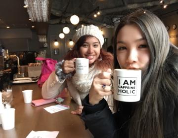 虎ノ門駅徒歩1分『Caffeineholic』500円以下こだわり珈琲の美味しいカフェで女子会!