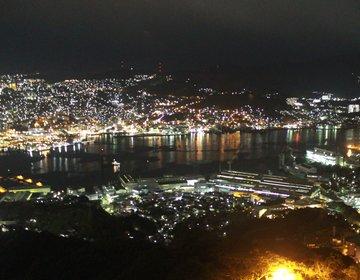 世界新三大夜景 稲佐山から長崎の1000万ドルの夜景を見る【長崎ロープウェイ、夜景見学ツアー】