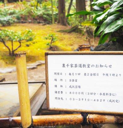 旧古河庭園・日本庭園内 茶室