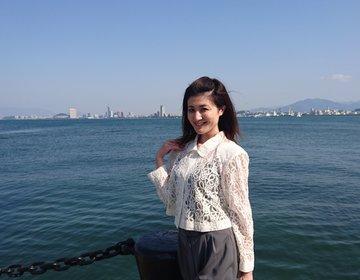 【福岡の離島へ行こう♪】のこのしまアイランドパーク・能古島観光で非日常を