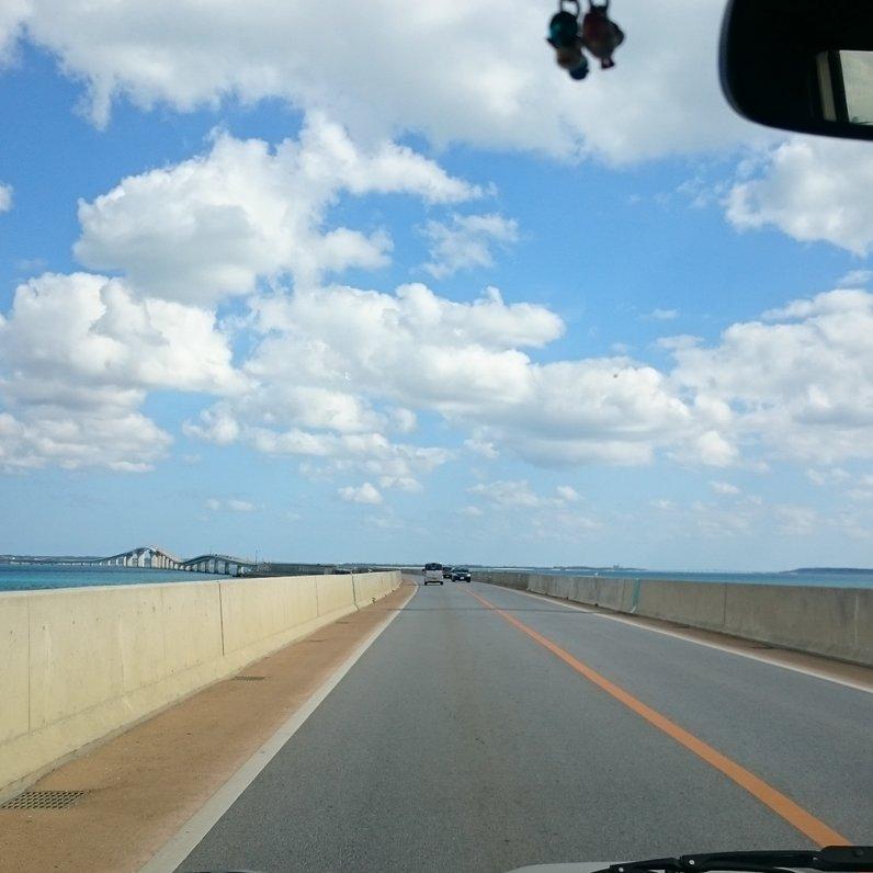 伊良部大橋開通記念碑
